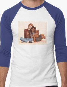 Ron and Hermione Men's Baseball ¾ T-Shirt