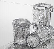 Coca Cola Study Sketch by Christopher Clark