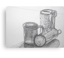 Coca Cola Study Sketch Canvas Print
