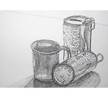 Coca Cola Study Sketch Photographic Print