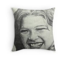 Bright Smile Throw Pillow