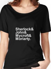 Alternative Beatles Sherlock Style. Women's Relaxed Fit T-Shirt