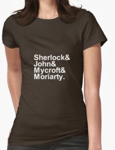 Alternative Beatles Sherlock Style. Womens Fitted T-Shirt