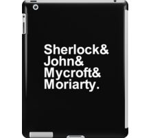 Alternative Beatles Sherlock Style. iPad Case/Skin