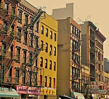 Fire Escapes by Shanen Silverman