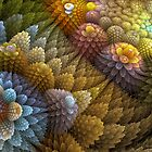 Cactus Garden by Sandra Bauser Digital Art