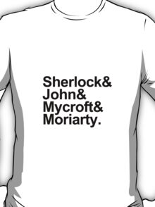 The Beatles Sherlock Style T-Shirt