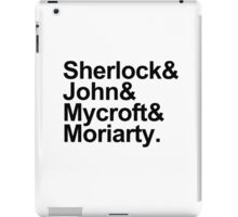 The Beatles Sherlock Style iPad Case/Skin