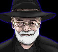 Terry Pratchett Tribute by danjisdesigns