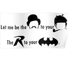 Partners in Crime Fighting Poster