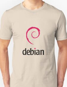 Powered By DebIan ! T-Shirt