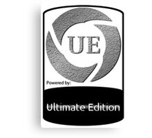 Powered by UE ! Canvas Print