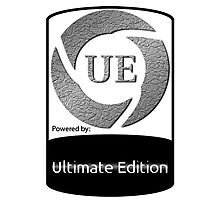 Powered by UE ! Photographic Print