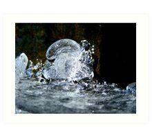 Frozen Bubble Art Print