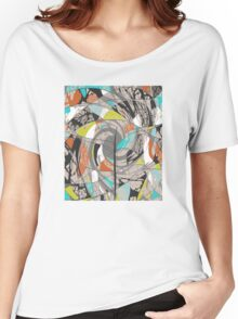 Swirling Abstract Tree Women's Relaxed Fit T-Shirt