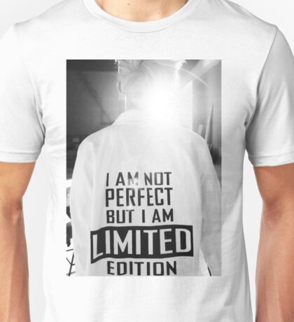 Rap Monster I AM NOT PERFECT BUT I AM LIMITED EDITION Unisex T-Shirt