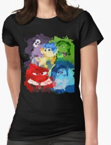 Inside Out Womens Fitted T-Shirt