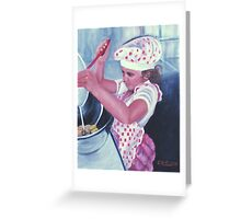 The Cook Greeting Card