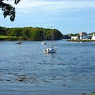 Boats in the Bay - Stornoway by MidnightMelody
