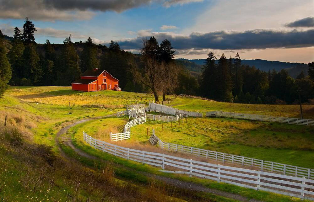 Red Barn by Zane Paxton