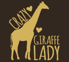 CRAZY Giraffe Lady  by jazzydevil