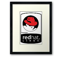 powered by RedHat ! Framed Print