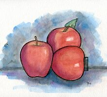 How Do You Like Them Apples? by Roz Abellera Art Gallery