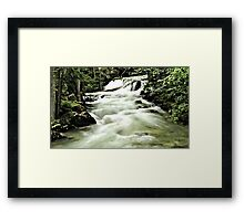 Springer Creek  Framed Print