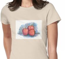 Three Apples Womens Fitted T-Shirt