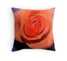 Purple peach Throw Pillow