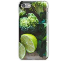 Ingredients iPhone Case/Skin