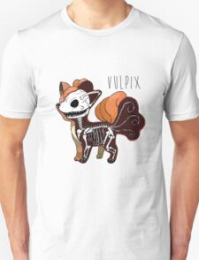 Ethereal Embers: Pokemon Anatomy T-Shirt