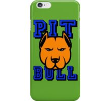 PIT BULL-22A iPhone Case/Skin