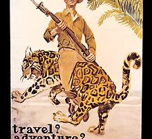 Travel Adventure U.S. Marines Vintage by SpiceTree