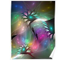 My Translucent Garden Poster