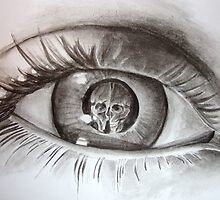 escher eye. by safia-akhtar