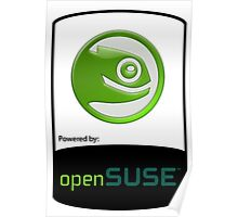 powered by openSUSE ! Poster