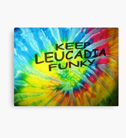 Lasting slogan in Leucadia Canvas Print