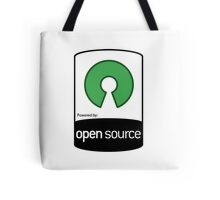 powered by open source ! Tote Bag