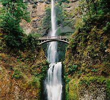 Multnomah Falls - Oregon by Mark Heller