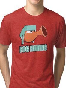 San Francisco Fog Horns Tri-blend T-Shirt