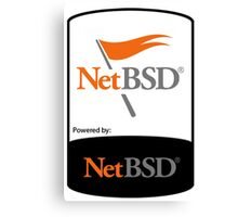 powered by NetBSD ! Canvas Print