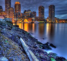 Boston Water Front from Fan Pier by sburdan