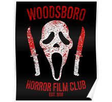 Woodsboro Horror Film Club Poster