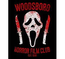 Woodsboro Horror Film Club Photographic Print
