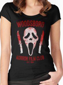 Woodsboro Horror Film Club Women's Fitted Scoop T-Shirt