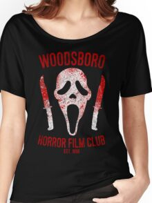 Woodsboro Horror Film Club Women's Relaxed Fit T-Shirt
