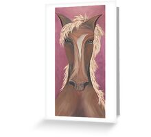 Horse Love Greeting Card