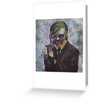 The Man Who Laughs Greeting Card