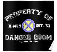 Danger Room Training Poster